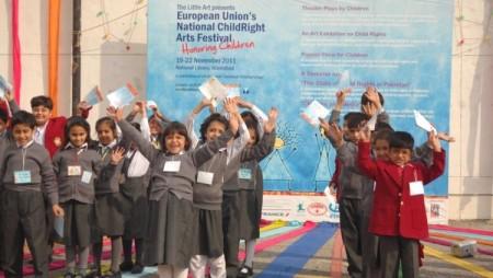 European Union's National ChildRight Arts Festival 2011