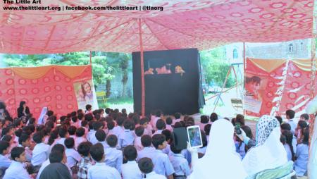 Puppet Show – Ali, Babli Aur Pari – Allied School Kasur