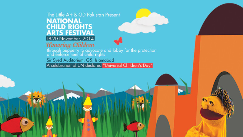 2nd National Child Right's Arts Festival 2014