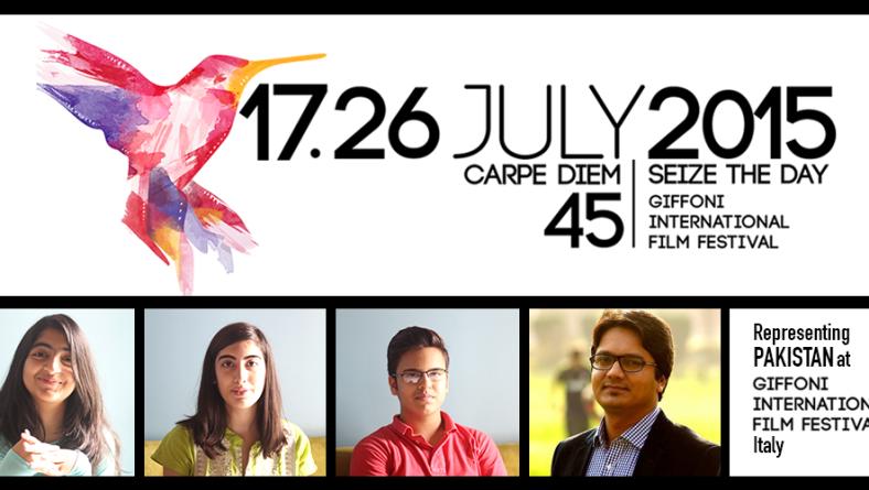 Young Jury Representing Pakistan at Giffoni, Italy