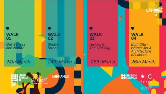 Cultural Walks – Lahore, I Love You – LB01