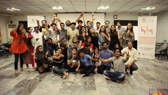 Steps Towards Peace – Tamasha YESPeace Workshops