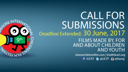 Call for Entry – 9th Lahore International Children's Film Festival 2017