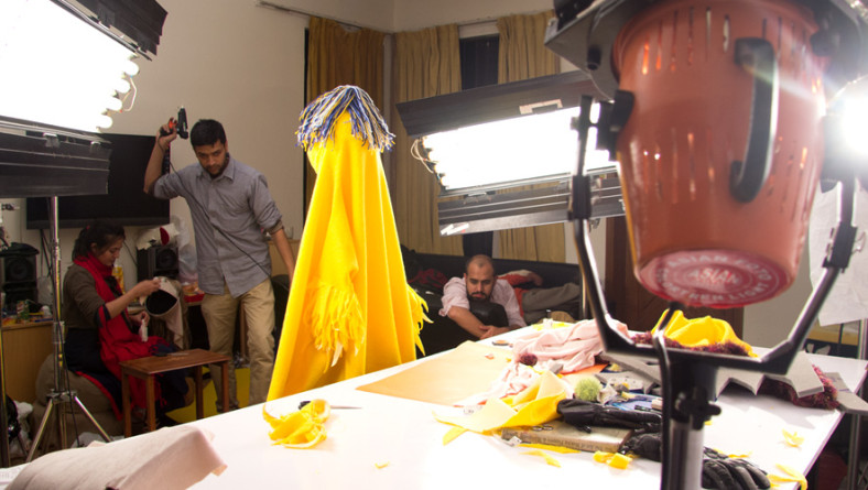 Backstage of Developing CutPutli, A Puppet Making Book