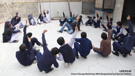 Life/Play – Drama Therapy Workshops with Marginalized and Special Children