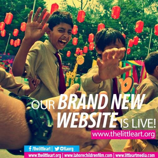Our Brand New Website is Live! www.thelittleart.org #TLA #Children #arts #education #workshops #website #blog