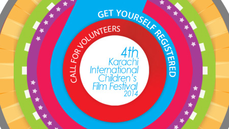 Call for Volunteers – 4th Karachi Intl. Children's Film Festival 2014