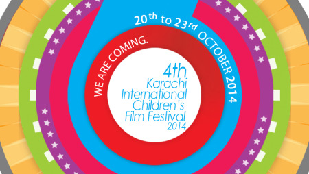 2014 Dates of 4th Karachi International Children's Film Festival