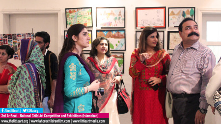 Great Excitement at the 3rd ArtBeat Islamabad Exhibition