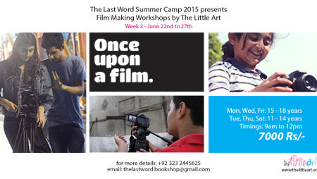 Once Upon a Film – Film Making Workshop