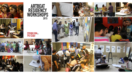 ArtBeat 2015 Workshops at Studio RM / College of Art & Design (PU)