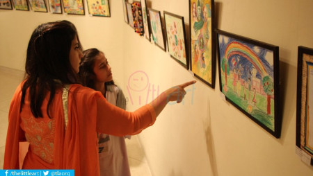 4th ArtBeat – Exhibition Opening in Lahore