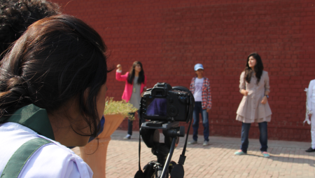 Young Students Making Films for Children in Pakistan