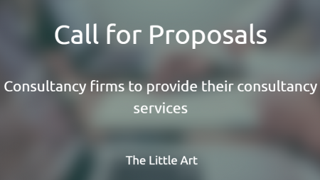 Call for Proposals for Consultancy firms