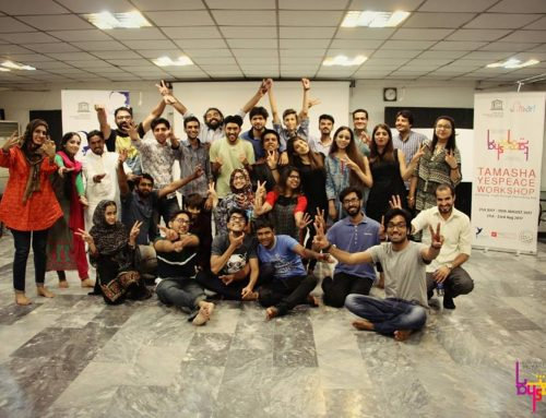 Steps Towards Peace – Tamasha YESPeace Workshops