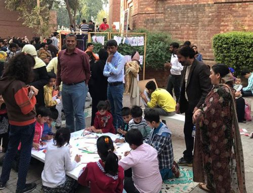 The Open Art Open Studio at Faiz Festival 2018